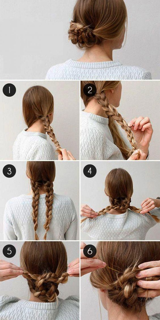 Easy Step By Step Tutorials On How To Do Braided Hairstyle (10 Hairstyles) – Gymbuddy Now #braidedhairstyles