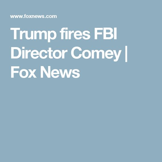 White House Documents On Firing Of FBI Director - Document Viewer - letter of firing