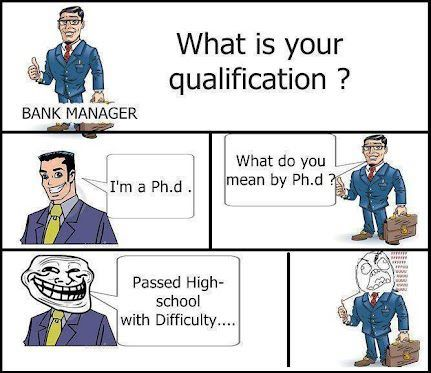 What is the Ph.D mean?