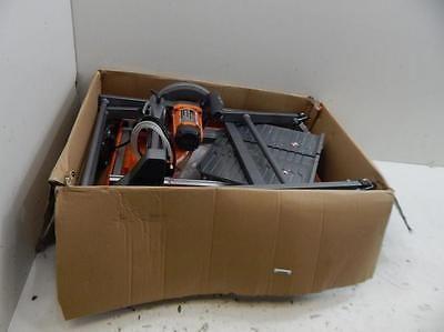 """Ridgid R4030S 7"""" Jobsite Tile Saw w/ Stand Power Tool 490246 W56 https://t.co/xYKSEki3Ra https://t.co/7lVAGi67bM"""