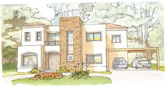 Google and b squeda on pinterest - Dibujos de casas modernas ...