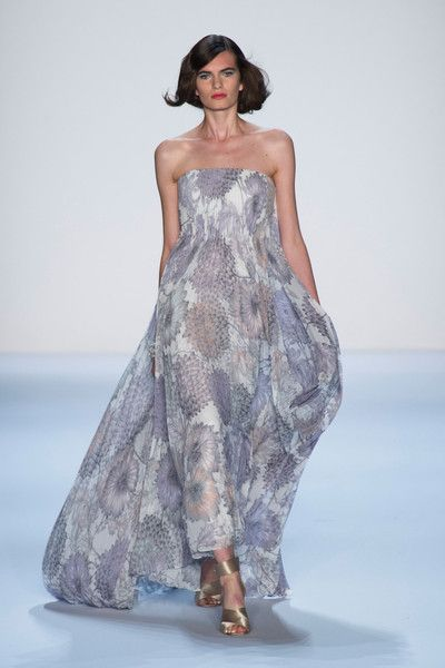 Badgley Mischka at New York Spring 2014