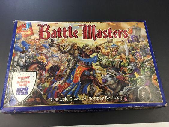 Battle Masters 1992 Milton Bradley Board Game from HeroQuest Creators #MiltonBradley