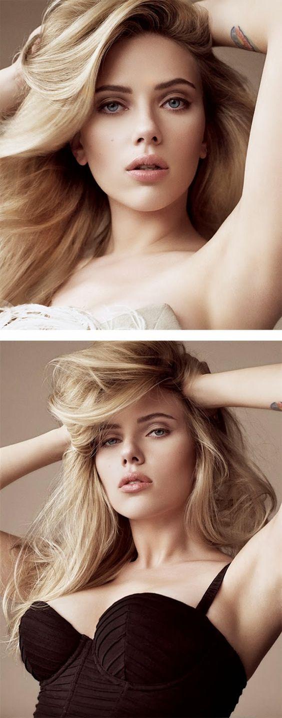 Scarlett Johansson haaaair