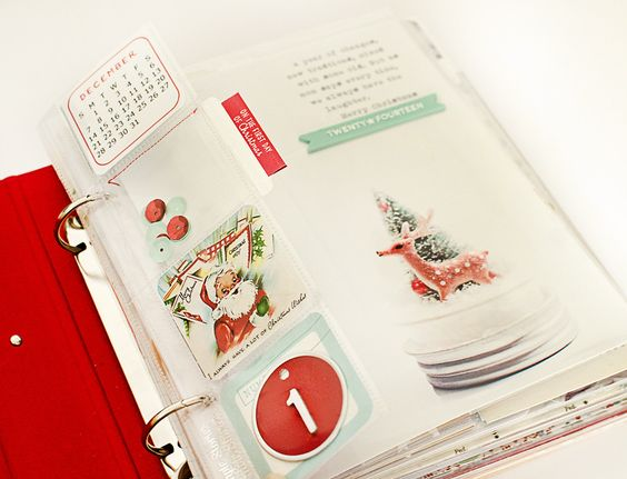 December Daily: Day 1 + Cover by MarieL at @studio_calico