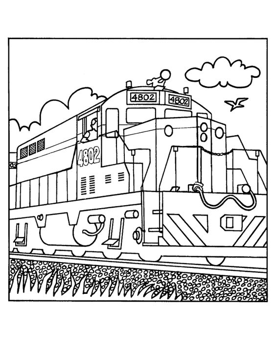 coloring pages  trains and coloring on pinterest