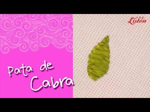 PUNTADA ESPINA DE PESCADO - YouTube