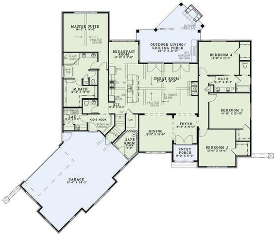 house plan 110 01001 european plan 2 617 square 4