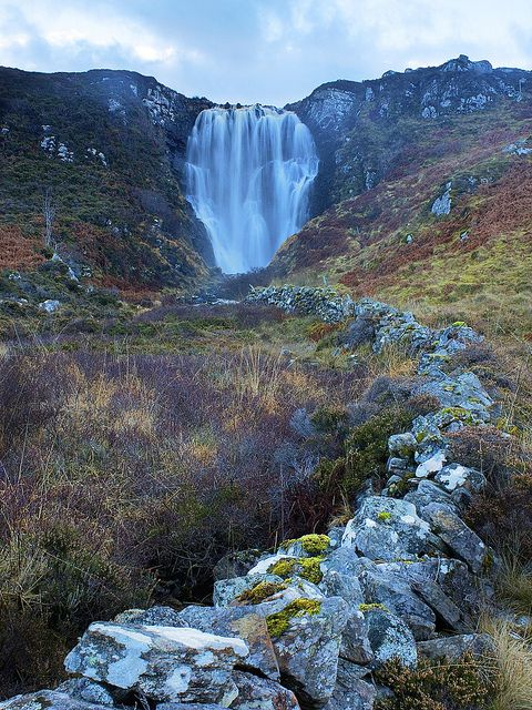 Clashnessie Falls by Christopher Swan on Flickr. This is in Assynt, in the north-west Scottish Highlands.