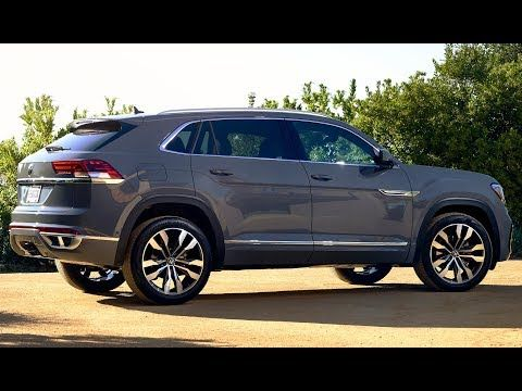 2020 Volkswagen Atlas Cross Sport Luxury Five Seater Coupe Look Youtube Volkswagen New Cars Dream Cars