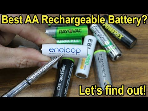 Which Aa Rechargeable Battery Is Best After 1 Year China S Nimh Vs Japan S Let S Find Out Youtube In 2020 Rechargeable Batteries Duracell Recharge
