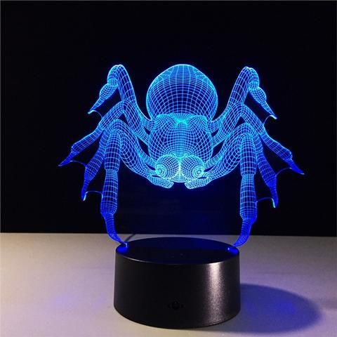 3d Led Night Lamp Visualization Illusion 7 Color Change Touch Button Switch And Remote Control Usb Powered Amazing A Led Night Lamp Unique Lighting Art Optical