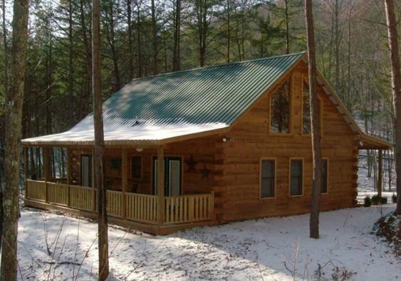 Martin s ten rules of roof design greenbuildingadvisor for Metal building cabin
