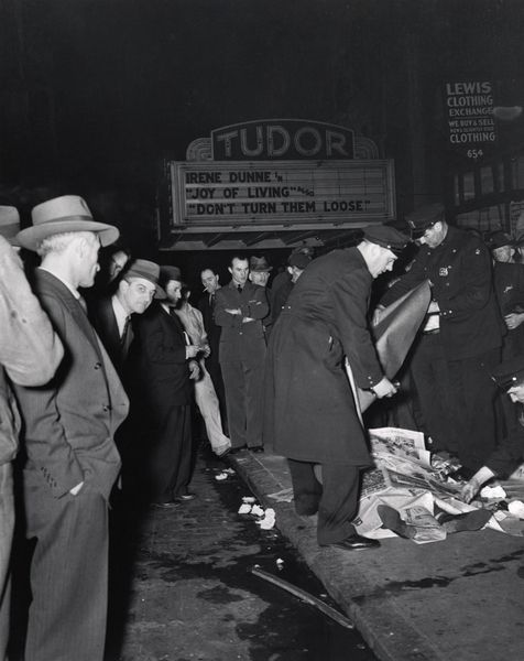 Accident, 42nd Street at Third Avenue, 1946.