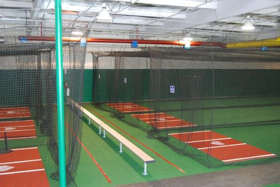 Indoor batting cages for sale roseville rocklin and for Design indoor baseball facility