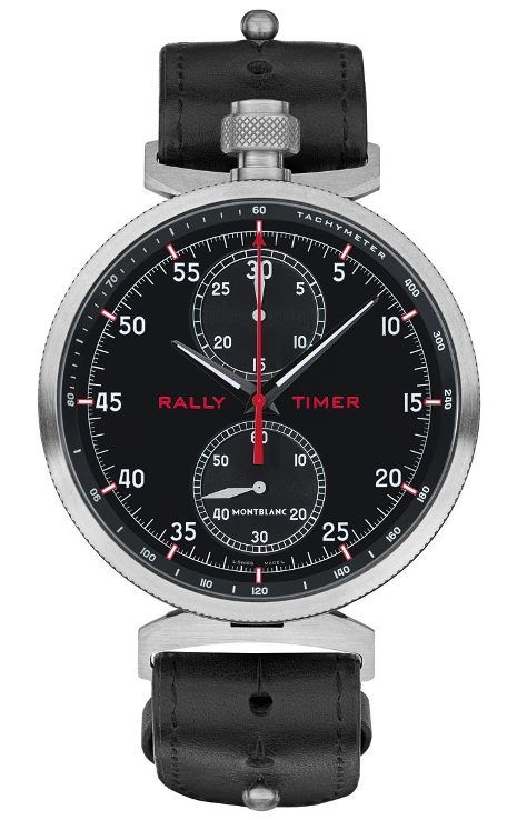 Montblanc TimeWalker Chronograph Rally Timer Counter Limited Edition 100 Ref. 116103