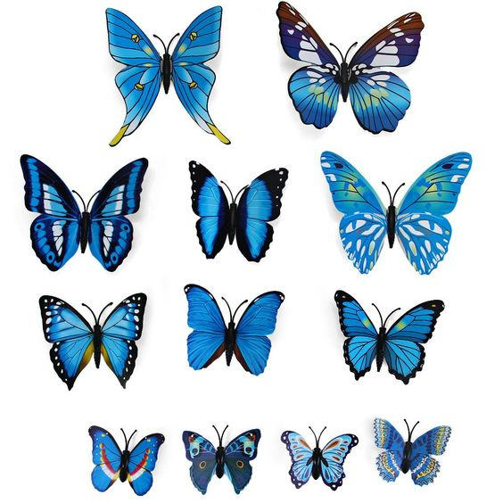 butterfly wall stickers butterfly wall art and home on 3d butterfly flowers wall sticker for kids room bedroom
