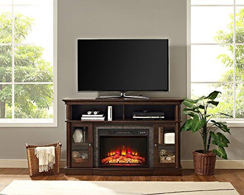 Whalen Furniture Brixham 54 Media Entertainment Console Https Www Amazon Com Dp B01mfamcg With Images Fireplace Console Whalen Furniture Electric Fireplace Tv Stand