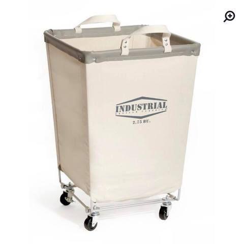 Diy Laundry Basket With Wheels Laundry Hamper Canvas Laundry