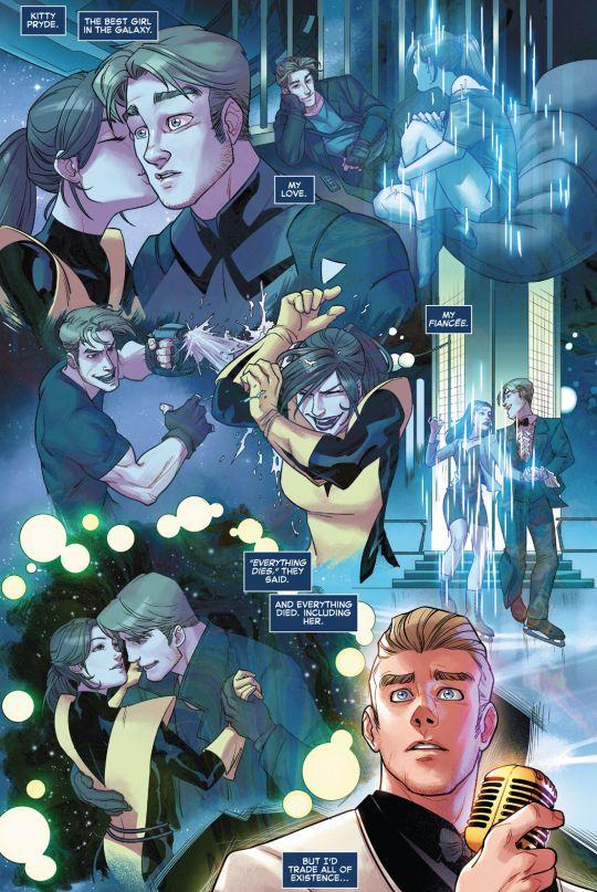 Star-Lord & Kitty Pryde #1 (2015)  written by Sam Humphries art by Alti Firmansyah & Jessica Kholinne