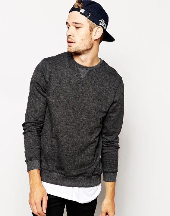 So fine / Sweatshirt with Crew Neck / ASOS