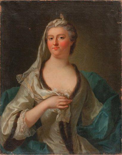 Princesse Marie-Isabelle Gabrielle de Rohan-Soubise, 2ème. Duchesse d'Hostun, Marquise de La Baume, Comtesse de Tallard, 1699-1754.:
