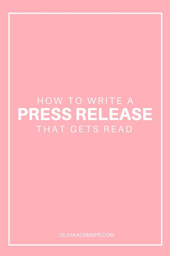 writing a press release for book launch speech
