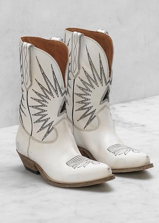 Golden Goose Boots Wish Star Low in