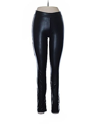 Express Women Faux Leather Pants Size S