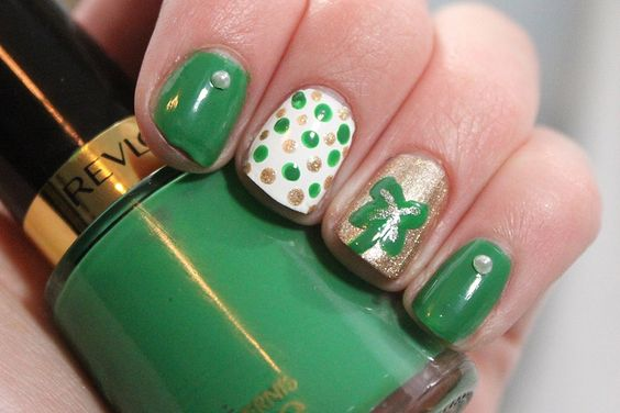Más de 50 Uñas decoradas de San Patricio – St Patricks Day Nail art | Decoración de Uñas - Manicura y Nail Art