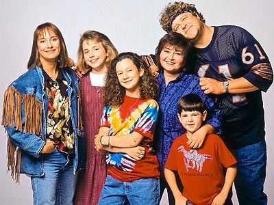Roseanne: 3rd favorite TV show of all time (yes, I really do love TV...) Yep, I have every season on DVD and Lynsey and I have seen about all of them!