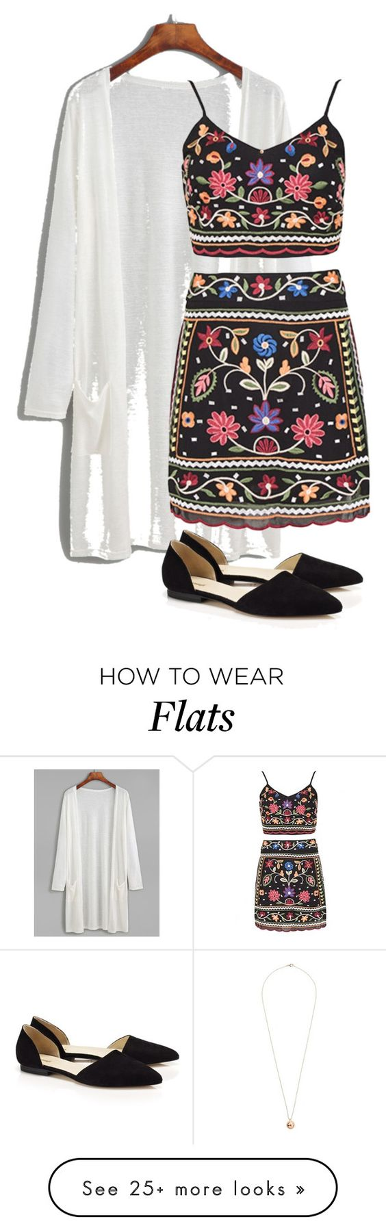 """X"" by gccassadrias on Polyvore featuring Samuji and Dorothy Perkins"