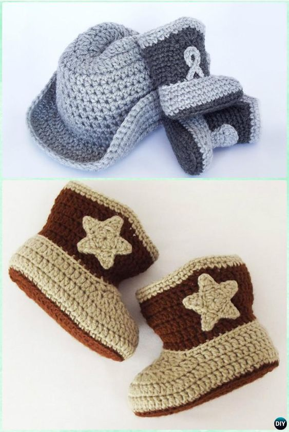 Crochet Baby Ankle Booties Free Pattern : Crochet Ankle High Baby Booties Free Patterns