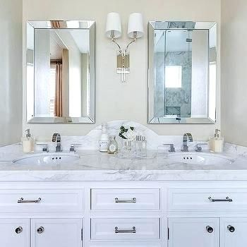 Round Bevelled Bathroom Mirrors Projects Idea Beveled Vanity Mirror Design Ideas Shining Curved Bathroom Vanity Bathroom Mirror Cabinet Small Bathroom Vanities