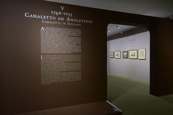 Salle 5 : Canaletto en Angleterre  ©C.Duranti  expo-canaletto.com/