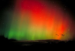 Aurora boreal: Cortina