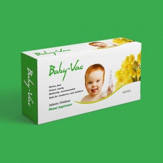 ماص المفرزات الأنفية شفاط الأنف جهاز Baby Vac شفاط انف للرضع والأطفال براءة اختراع شهادة مصادقة أوروبية Frame Decor Vac