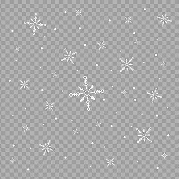 Falling Snow Particles Background Design Christmas Winter Design Png And Vector With Transparent Background For Free Download Christmas Illustration Design Background Design Snow Vector