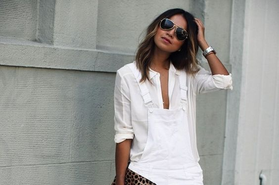 18 Looks ideales para las chicas que quieren usar overoles