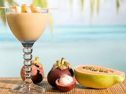 exotic smoothie recipes using HMR vanilla shake!  yum!