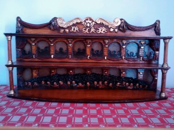 Regal Aufsatz Setzkasten Schrank Gewürzregal Holz 50er 60er La Scala Wood Shelf | eBay
