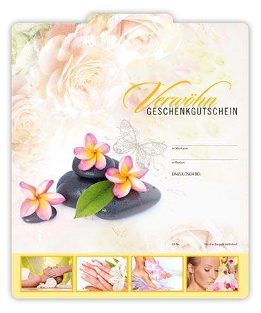 Multicolor-Gutschein KS234 - ein Verwöhngeschenkgutschein für Wellness und Massage