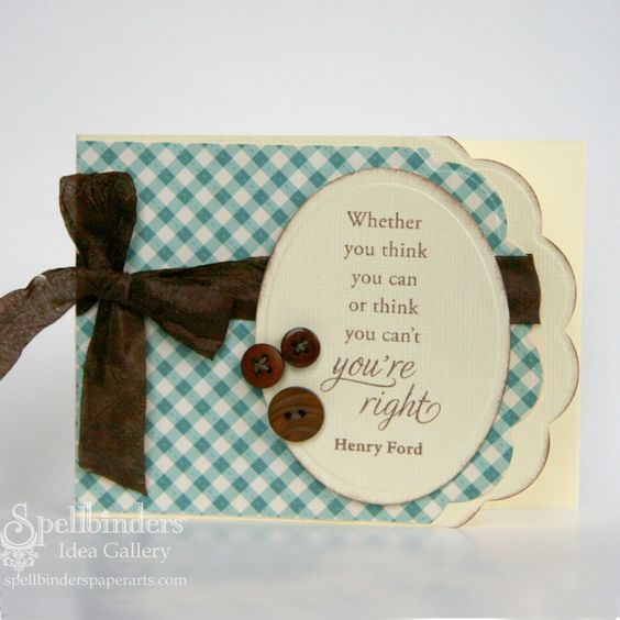 Spellbinders Paper Arts - Idea Gallery - View Project - You're Right