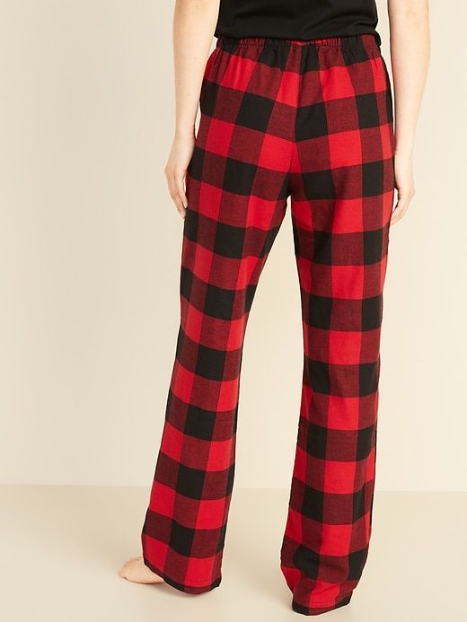 Mae Womens Flannel Pant with Drawstring Pajama Bottom