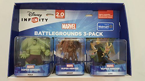 Disney Infinity 2 0 Marvel Battlegrounds 3 Pack Hulk Groot Loki Details Can Be Found By Clicking On The Imag Disney Infinity Marvel Battlegrounds Marvel