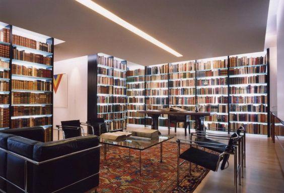 biblioteque illumination!   courtesy of backlit temper glass