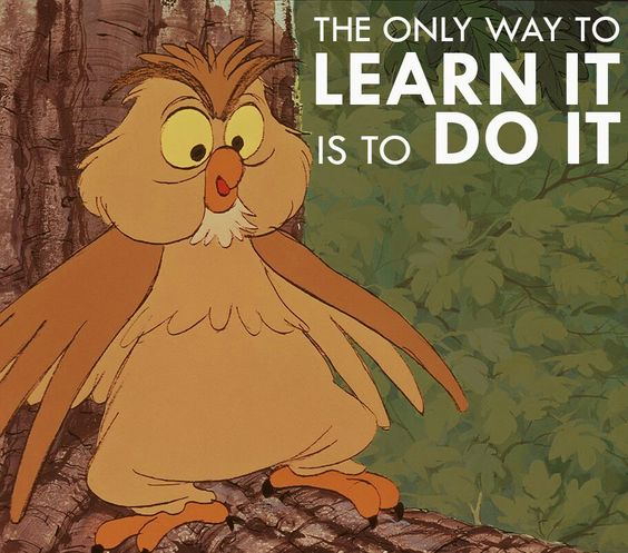 archimedes  wise owl  shows boys some motivation in taking action to see change