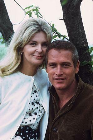 Joanne Woodward and Paul Newman