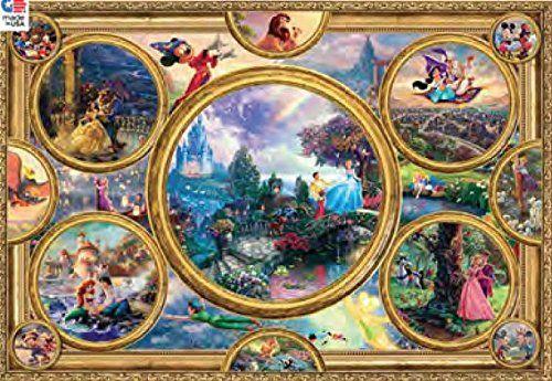 Ceaco Disney Jigsaw Puzzle Kinkade Disneypuzzle Disney Collage Thomas Kinkade Disney Kinkade Disney