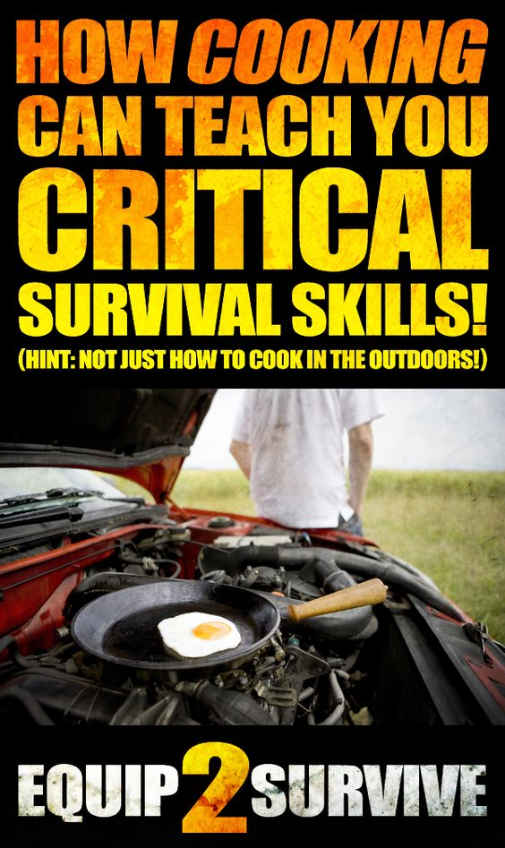 Did you know that cooking can actually teach you critical survival skills... like how to prevent hypothermia? This is an interesting read!! You gotta repin this one!